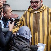NLD/Amsterdam/20160330 - Vertrek Marokkaanse koning Mohammed VI uit Amsterdam,