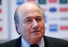 20050209 SLO: FIFA President Joseph S. Blatter, Ljubljana