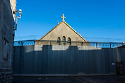 The Chapel, HMP/YOI Portland, a resettlement prison with a capacity for 530 prisoners. Dorset, United Kingdom.