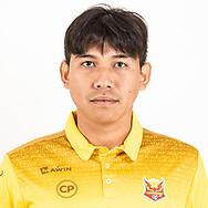 THAILAND - JUNE 29: Ekkasit Chaobut #23 of Sukhothai FC on June 29, 2019.<br /> .<br /> .<br /> .<br /> (Photo by: Naratip Golf Srisupab/SEALs Sports Images/MB Media Solutions)