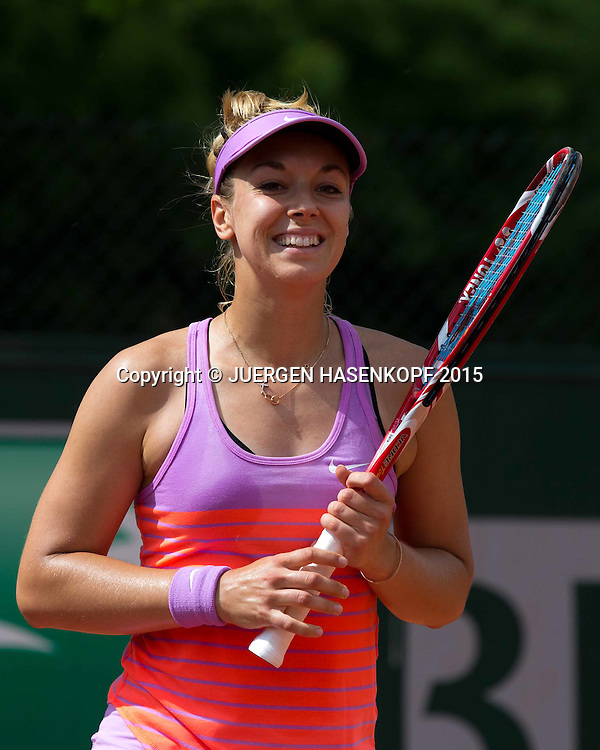 Sabine Lisicki (GER)<br /> <br /> Tennis - French Open 2015 - Grand Slam ITF / ATP / WTA -  Roland Garros - Paris -  - France  - 25 May 2015.