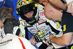 27.08.2010, Motor Speedway, Indianapolis, USA, MotoGP, Red Bull Indianapolis Grand Prix, im Bild Valentino Rossi - Fiat Yamaha team, EXPA Pictures © 2010, PhotoCredit: EXPA/ InsideFoto/ Semedia *** ATTENTION *** FOR AUSTRIA AND SLOVENIA USE ONLY!