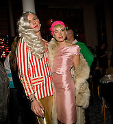 JOHNNY WOO; AGYNESS DEYN, Kate Grand hosts a Love Tea and Treasure hunt at Flash. Royal Academy. Burlington Gardens. London. 10 december 2008 *** Local Caption *** -DO NOT ARCHIVE-© Copyright Photograph by Dafydd Jones. 248 Clapham Rd. London SW9 0PZ. Tel 0207 820 0771. www.dafjones.com.<br /> JOHNNY WOO; AGYNESS DEYN, Kate Grand hosts a Love Tea and Treasure hunt at Flash. Royal Academy. Burlington Gardens. London. 10 december 2008