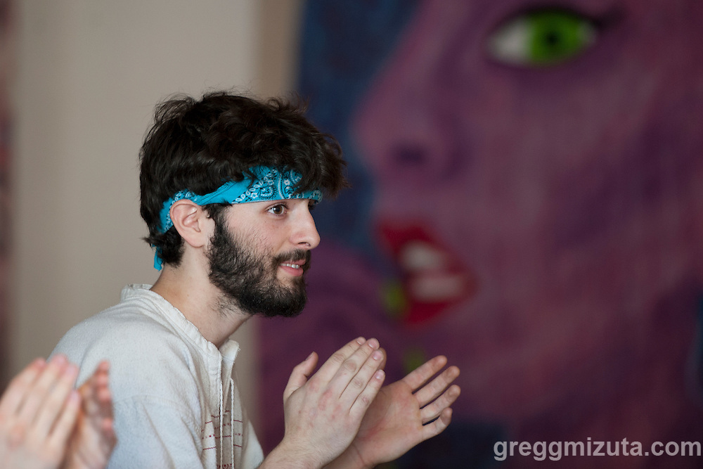 Brandon Young at the Commonauts Youth Outreach Program Summer Opener at the Boise Hive on June 4, 2016 in Boise, Idaho. (Gregg Mizuta/greggmizuta.com)<br />