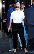 Nov. 4, 2015 - New York, New York, U.S. - Singer LADY GAGA leaves her midtown apartment. <br /> ©Exclusivepix Media