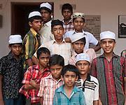 Muslim orphanage, Kerala, India
