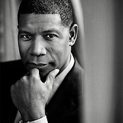 UK. London. Dennis Haysbert, actor who plays Nelson Mandela in a new film soon to be released called GOODBYE BAFANA<br /> photo Mark Chilvers/Insight-Visual