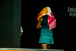 January 26, 2019 - Melbourne, VIC, U.S. - MELBOURNE, AUSTRALIA - JANUARY 26 : Naomi Osaka of ÊJapan shows her frustration during the final on day 13 of the Australian Open on January 26 2019, at Melbourne Park in Melbourne, Australia.(Photo by Jason Heidrich/Icon Sportswire) (Credit Image: © Jason Heidrich/Icon SMI via ZUMA Press)