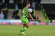 Forest Green Rovers Liam Shephard(2) controls the ball during the EFL Sky Bet League 2 match between Forest Green Rovers and Crawley Town at the New Lawn, Forest Green, United Kingdom on 5 October 2019.