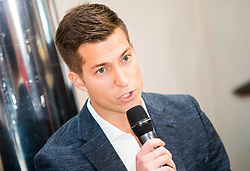 Andraz Bedene during Slovenian Tennis personality of the year 2017 annual awards presented by Slovene Tennis Association Tenis Slovenija, on November 29, 2017 in Siti Teater, Ljubljana, Slovenia. Photo by Vid Ponikvar / Sportida
