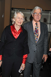 LORD & LADY BAKER OF DORKING at a private view of Private Eye: The First 50 Years - an exhibition at the Victoria & Albert Museum, London on 17th October 2011.