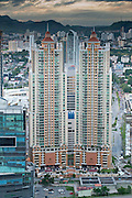 Edificios en Punta Pacifica, Panamá, Central America