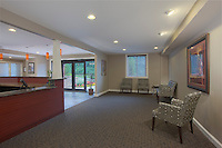Interior image of Padonia Village Apartments Leasing Office by Jeffrey Sauers of Commercial Photographics