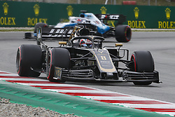 May 11, 2019 - Barcelona, Catalonia, Spain - Haas Ferrari driver Romain Grosjean (8) of France during F1 Grand Prix free practice celebrated at Circuit of Barcelona 11th May 2019 in Barcelona, Spain. (Credit Image: © Mikel Trigueros/NurPhoto via ZUMA Press)