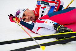 February 22, 2019 - Seefeld In Tirol, AUSTRIA - 190222 Jarl Magnus Riiber of Norway after competing in men's nordic combined 10 km Individual Gundersen during the FIS Nordic World Ski Championships on February 22, 2019 in Seefeld in Tirol..Photo: Vegard Wivestad GrÂ¿tt / BILDBYRN / kod VG / 170288 (Credit Image: © Vegard Wivestad Gr¯Tt/Bildbyran via ZUMA Press)
