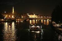 the Seine River in the evening..photo by Owen Franken