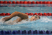 Cara Baker competes in the Women's 800m Freestyle final at the New Zealand Swimming World Championship Trials at the West Aquatic Centre, Auckland, New Zealand, on Wednesday 13 December 2006. Photo: Michael Bradley/PHOTOSPORT