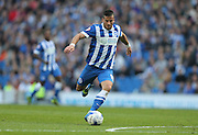 Brighton striker, Tomer Hemed riffles a shot in during the Sky Bet Championship match between Brighton and Hove Albion and Cardiff City at the American Express Community Stadium, Brighton and Hove, England on 3 October 2015.