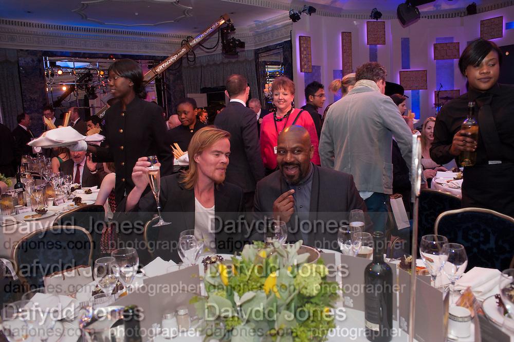 GREGORY PORTER; , The Sky South Bank Arts Awards, Dorchester Hotel , Park Lane, London. 1 May 2012.