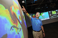 Dr. Ruoying He directs the Ocean Observing and Modeling Group at NC State.