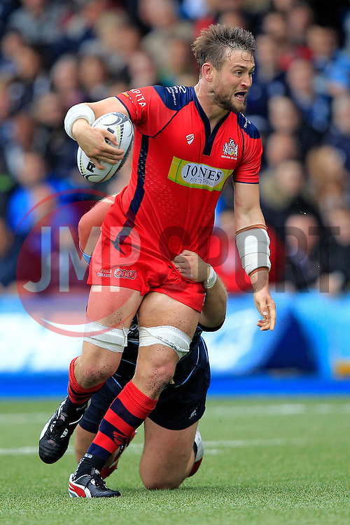 Jon Fisher of Bristol Rugby in action - Mandatory by-line: Ian Smith/JMP - 20/08/2016 - RUGBY - BT Sport Cardiff Arms Park - Cardiff, Wales - Cardiff Blues v Bristol Rugby - Pre-season friendly