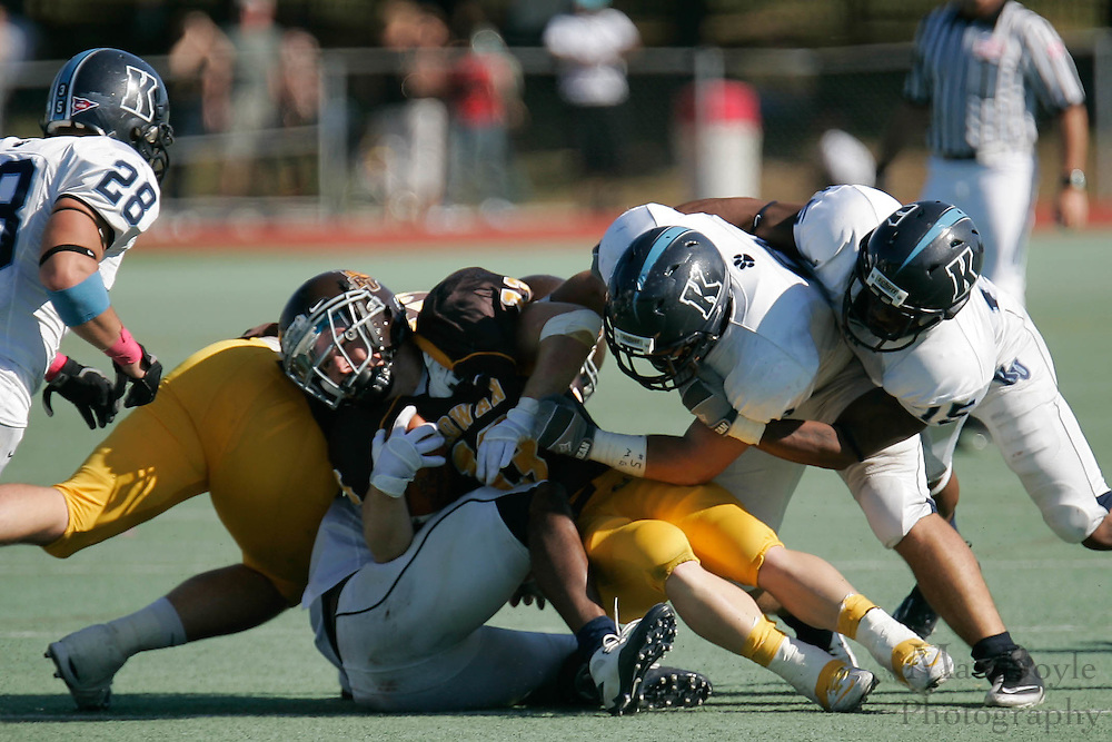 2010 October 09: Rowan University Football defeats. Kean University 21 - 17.