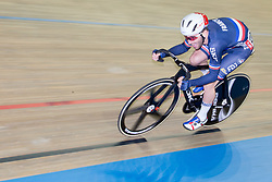 March 2, 2019 - Pruszkow, Poland - Benjamin Thomas (FRA) competes on day four of the UCI Track Cycling World Championships held in the BGZ BNP Paribas Velodrome Arena on March 02 2019 in Pruszkow, Poland. (Credit Image: © Foto Olimpik/NurPhoto via ZUMA Press)