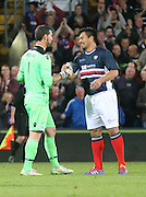 Julian Speroni and Fabian Caballero - Crystal Palace v Dundee - Julian Speroni testimonial match at Selhurst Park<br /> <br />  - © David Young - www.davidyoungphoto.co.uk - email: davidyoungphoto@gmail.com