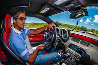 Driving an Audi R8 at Exotic Rides Mexico. Exotic Rides Mexico gives the opportunity for guests to drive the most exotic and exclusive cars in the world on a 1.1 mile private race track in Cancun, Quintana Roo, Mexico
