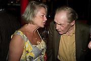KATE  ADIE; JOHN MADDOX, BBC Four Samuel Johnson Prize party. Souyh Bank Centre. London. 15 July 2008.  *** Local Caption *** -DO NOT ARCHIVE-© Copyright Photograph by Dafydd Jones. 248 Clapham Rd. London SW9 0PZ. Tel 0207 820 0771. www.dafjones.com.