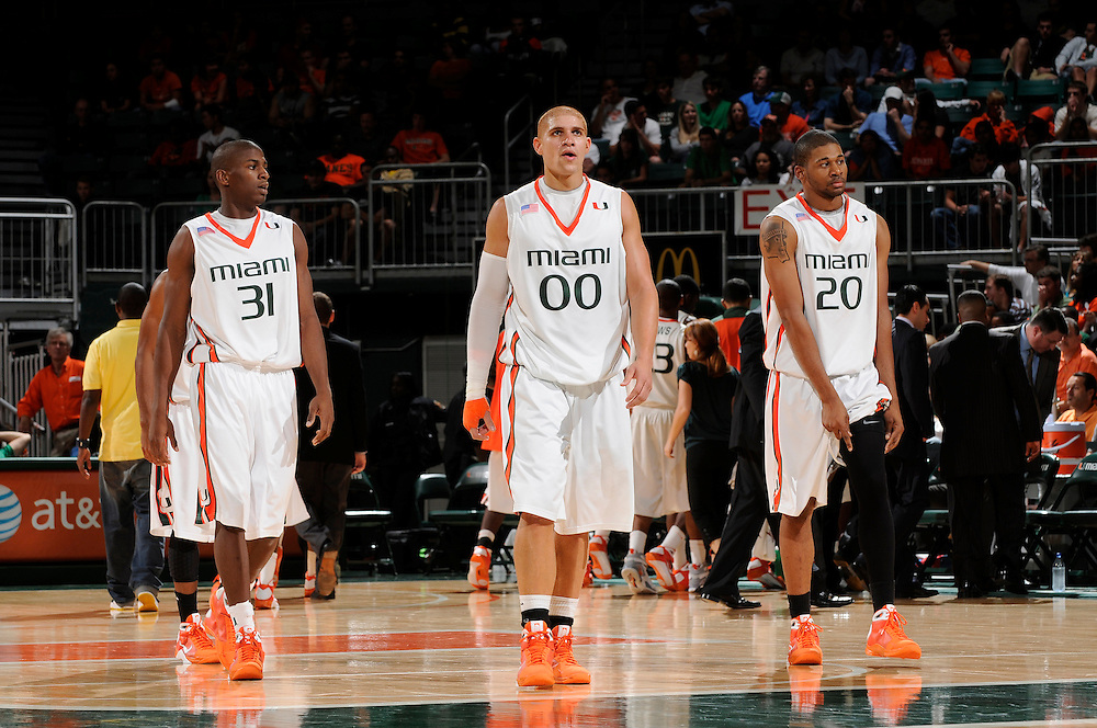 2009 Miami Hurricanes Men's Basketball vs Clemson