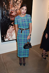 Bettina Looney at the launch of the new JD Malat Gallery, 30 Davies Street, London, England. 05 June 2018.