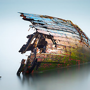 Wreck of the 'Dayspring', Loch Diabaig, Wester Ross