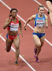 07-03-2015 CZE: European Athletics Indoor Championships, Prague<br /> Ezinne Okparaebo NOR, Olesya Povh UKR