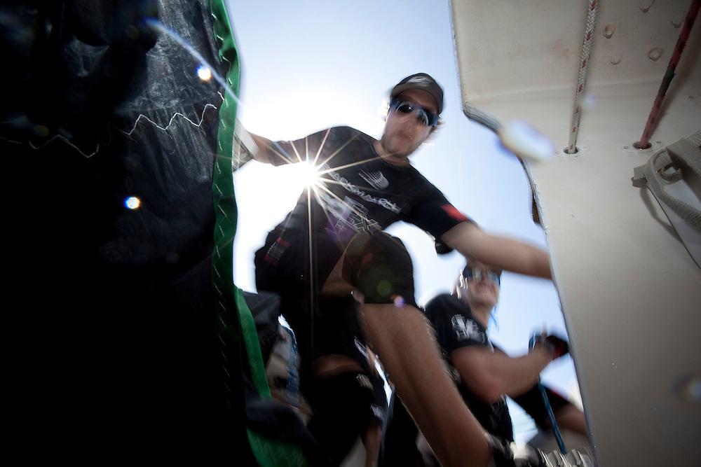Nick Blackman, Black Match Racing. Argo Group Gold Cup 2010. Hamilton, Bermuda. 4 October 2010. Photo: Subzero Images/WMRT