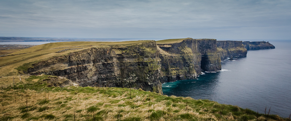 Landscape photograph of the Cliffs of Moher, County Clare, Ireland