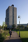 High-rise flats in Kennington Park, Lambeth, South London.