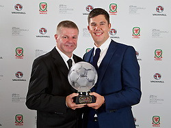 CARDIFF, WALES - Monday, October 5, 2015: FAW Fair Play Award winner Welsh Alliance League Division One's Penrhyndeudraeth during the FAW Awards Dinner Dinner at Cardiff City Hall. (Pic by David Rawcliffe/Propaganda)