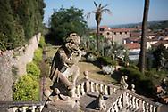 Villa Garzoni's garden, zoomorphic statue