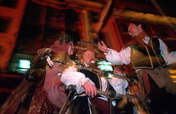 IRELAND DUBLIN 17MAR00 - Sailors from the Barcelona Theatre Company sway drunkenly on their ship the night before the St. Patrick's Day celebrations in Dublin...jre/Photo by Jiri Rezac..© Jiri Rezac 2000..Contact: +44 (0) 7050 110 417.Mobile:  +44 (0) 7801 337 683.Office:  +44 (0) 20 8968 9635..Email:   jiri@jirirezac.com.Web:     www.jirirezac.com..© All images Jiri Rezac 2000 - All rights reserved.