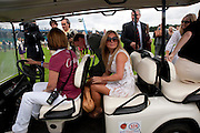 Geri Halliwell; , Cartier International Polo Day at the Guards Polo Club. Windsor. July 26  2009