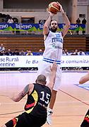 DESCRIZIONE : Trento Nazionale Italia Uomini Trentino Basket Cup Italia Germania Italy Germany<br /> GIOCATORE : Luigi Datome<br /> CATEGORIA : tiro three points<br /> SQUADRA : Italia Italy<br /> EVENTO : Trentino Basket Cup<br /> GARA : Italia Germania Italy Germany<br /> DATA : 10/07/2014<br /> SPORT : Pallacanestro<br /> AUTORE : Agenzia Ciamillo-Castoria/R.Morgano<br /> Galleria : FIP Nazionali 2014<br /> Fotonotizia : Trento Nazionale Italia Uomini Trentino Basket Cup Italia Germania Italy Germany