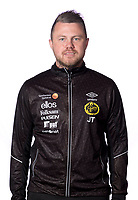 180214 Elfsborg:s tränare Jimmy Thelin poserar för ett porträtt den 14 Feb 2018 i Borås.<br /> Foto: Pelle Börjesson / Idrottsfoto / BILDBYRÅN / COP 205