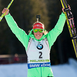 20151219: SLO, Biathlon - IBU Biathlon World Cup Pokljuka, Women 10 km Pursuit