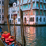 Gondola in the Grand Canal.