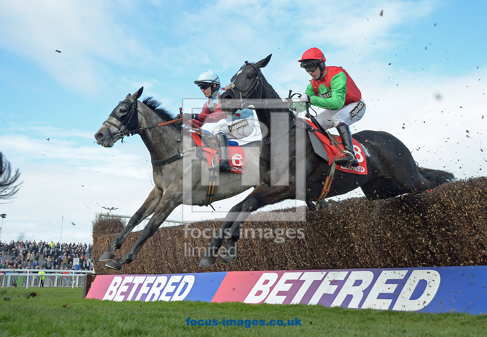 A preview of this weekend's favourites in UK Racing.<br /> Picture by Martin Lynch/Focus Images Ltd 07501333150<br /> 09/12/2016<br /> <br /> Original caption:<br /> Left is IRISH CAVALIER right is TAQUIN DU SEUIL at Aintree 7-4-16.