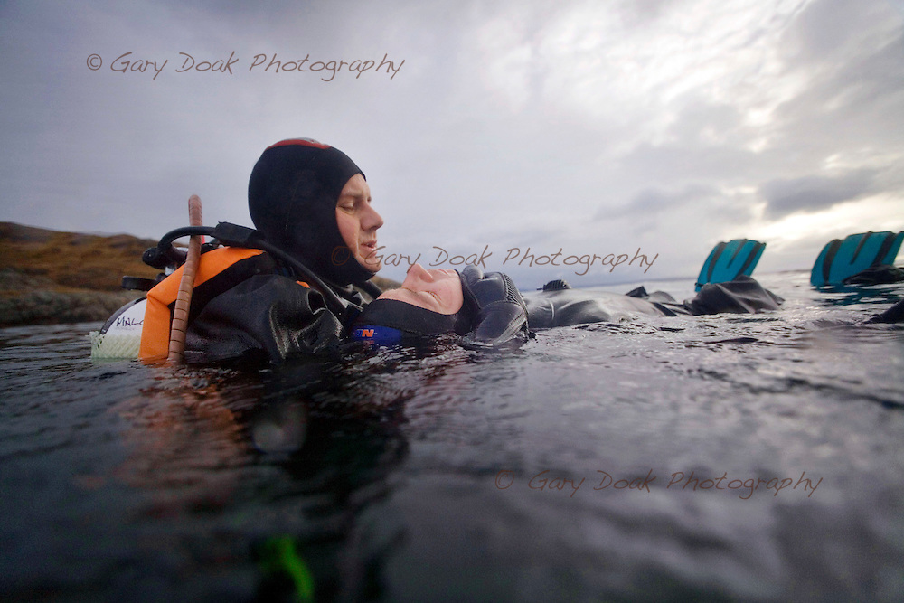 Deep Blue Scuba staff trip to Lochaline in the Sound of Mull.