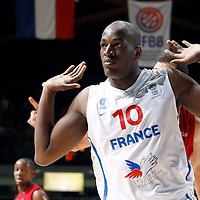 27 August 2011: Ali Traore is seen during the friendly game won 74-44 by France over Belgium, in Lievin, France.