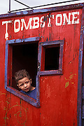 Child in Stagecoach, Helldorado Days, Tombstone, Arizona. ©Edward McCain/McCain Creative, Inc. All Rights Reserved 520-623-1998