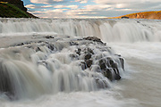 Gullfoss waterfall in South Iceland
